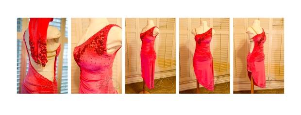 rumba dress finished