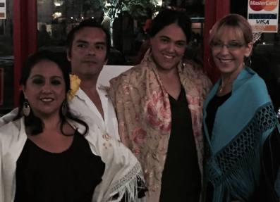 Mercedes & Robert Granados, Melissa Ines and me