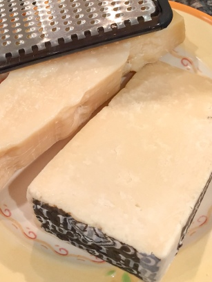 Parmigiano-Reggiano and Locatelli Cheese